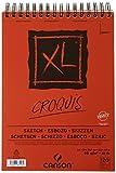 Canson XL Croquis 200787103 Papier à dessin 120 feuilles A4 21 x 29,7 cm 90 g Ivoire