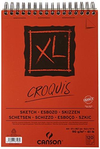 Album schizzo XL Canson - A4-120 fogli - 200787103