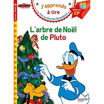 L'arbre de Noël de Pluto CP Niveau 1