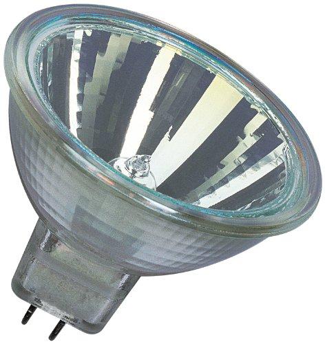 g4 halogen 20w Osram 10-er Set Decostar EEK B 51s 12 Volt 20 Watt Sockel Gu5,3 36 Halogenlampe mit Kaltlichtspiegelreflektor und Abdeckscheibe, Durchmesser 51 mm 44860WFL