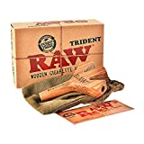 RAW Trident 3fach Zigarettenhalter Jointhalter aus echtem Holz