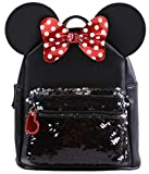 -:- Minnie Mouse -:- Disney -:- Sac à dos à paillettes