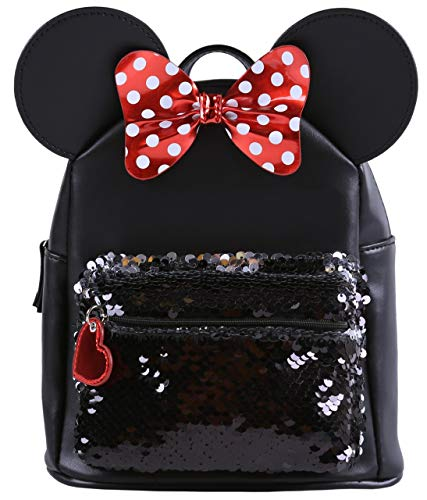 -:- Minnie Mouse -:- Disney -:- Sac à dos à paillettes