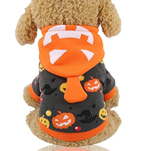 Lampe Eine Kostüm - ACC Haustier Hund Halloween Kostüm, Halloween Kürbis Lampe Kostüm Hund Maskerade Kostüm Haustier Halloween Kostüm Small Medium Dog Decoration,2,M