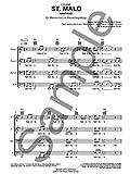 Santiano: St. Malo (Vocal Score)