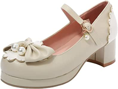 Lydee Donne Dolce Bow Cosplay Scarpe