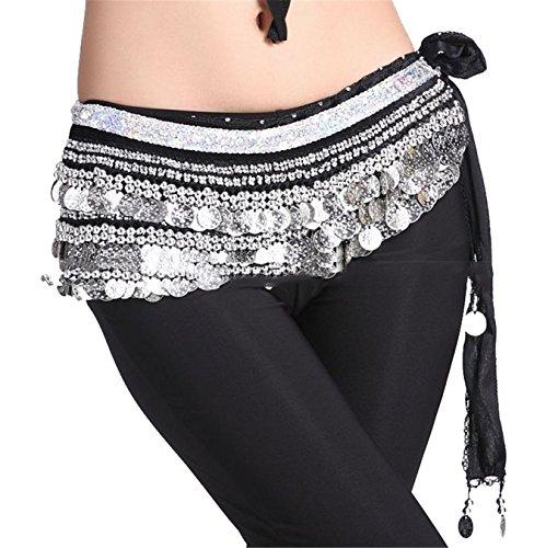 dance-accessories-tribal-3-rows-338-sliver-bead-monete-danza-del-ventre-anca-sciarpa-gonna-costume