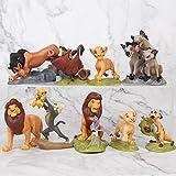 WILDLION Figure di Re Leone Action Simba Nala Timon Modello PVC Figure Bambola Classica per Bambini 9pcs / Set 5-9cm