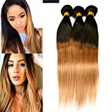 Best Hair Weave Blonde 3 Bundles - Dai Weier Blonde Hair Weave 300g Brazilian Straight Review