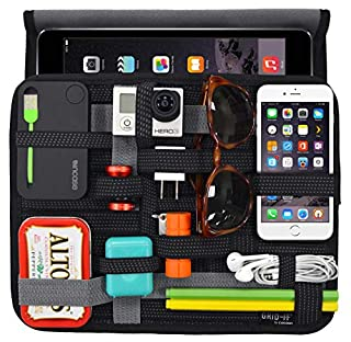 Cocoon GRID-IT WRAP - Bag & Organizer for iPad from 10 inches | Case in Neoprene for Tablet | Organizing System - Black / 28,5 x 3,2 x 23,5 cm (B005LIF81C) | Amazon price tracker / tracking, Amazon price history charts, Amazon price watches, Amazon price drop alerts