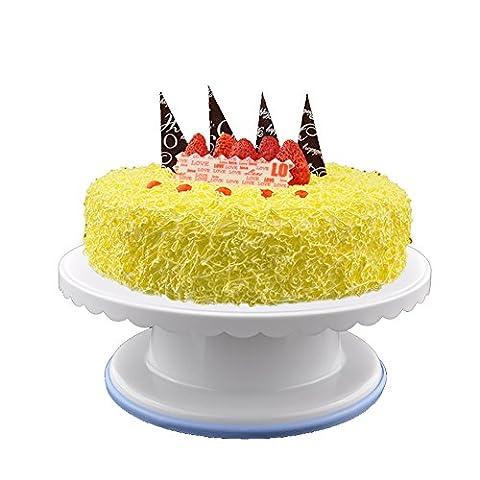 Plateau à gâteau rotatif support à gâteau, gâteau Turntable Décoration de gâteaux tournante support support à gâteaux Décoration de gâteaux Fournitures Style 2