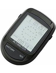Seesii 8-en-1 Multi-función LCD Digital Altímetro Barómetro Brújula Termómetro Pronóstico del tiempo LED para Actividades al Aire Libre