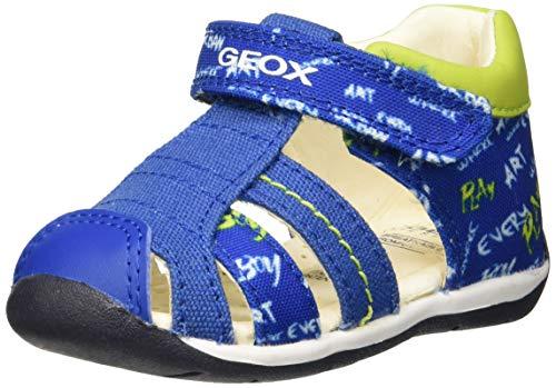 Geox Baby Jungen B Each Boy C Sandalen, Blau (Royal/Lime C4344), 20 EU