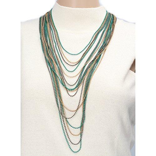 NALì collana donna multicolore AF528