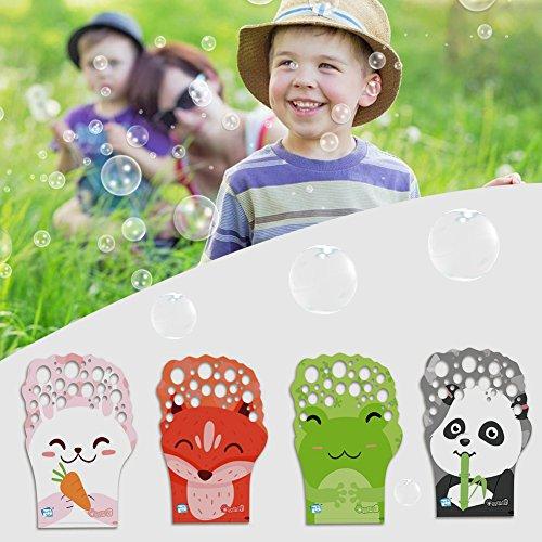 ble Handschuhe Set mit konzentrierten Blase Flüssigkeit Welle Bubble Game Party Favor für Kinder (Farbe nach dem Zufallsprinzip) ()