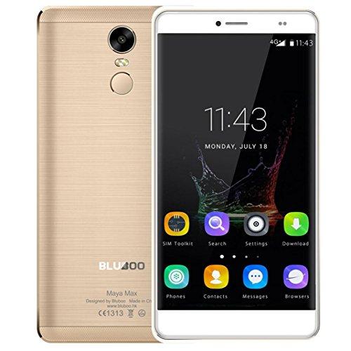 Smartphones, teléfonos móviles, BLUBOOMaya Max Smartphones pantalla de 5,5 pulgadas; 3 + 32 GB 6,0 pulgadas Android...