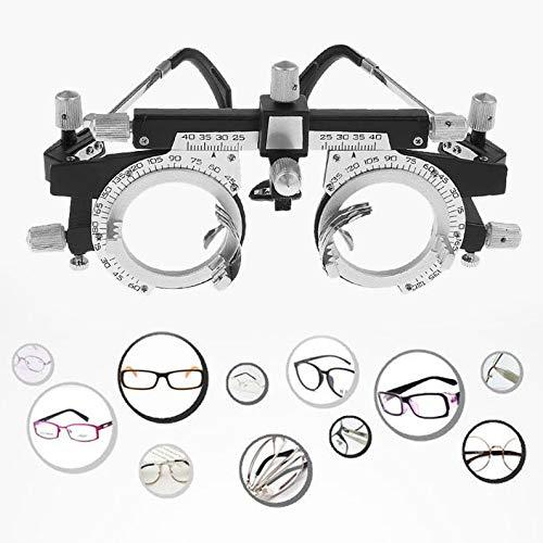 huiwukejiyouxiang Adjustable Professional Eyewear Optometry Frame Optician Trial Lens Frame