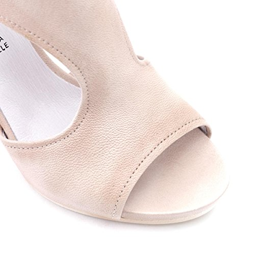 Cafènoir Sandale, Sandales Femme E15.094 Beige