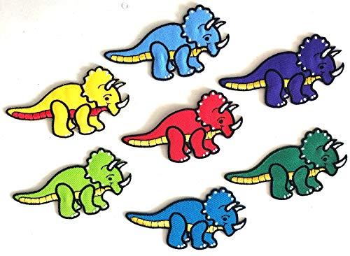 i-Patch - Patches - 0194 - Dino-Saurier - Tyranno-Saurus - T-Rex - Echse - Eidechse - Salamander - Chamäleon - Abzeichen - Applikation - Aufbügler - Flicken - Aufnäher - Sticker - Bügelbild