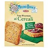 Mulino Bianco Fette Biscottate Le Cereali, Ottime per la Colazione - 315 g