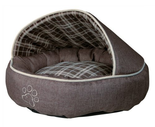 Trixie Timber Cuddly Cave, Brown 1