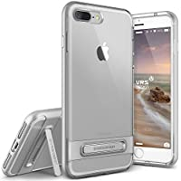 Cover iPhone 7 Plus, VRS Design [Crystal Bumper][Argento Satinato] -