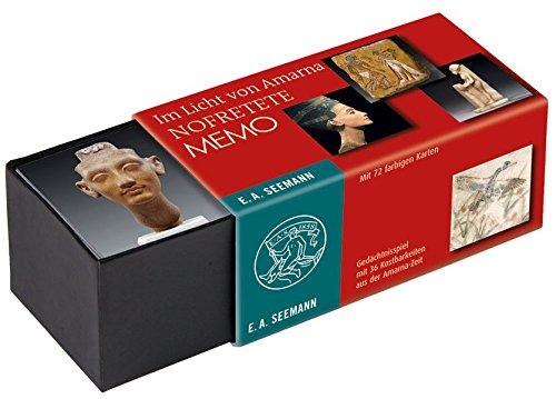 ägypten-spielzeug Das Alte (Im Licht von Amarna. Nofretete Memo: Gedächtnisspiel mit 36 Kostbarkeiten aus der Amarna-Zeit)