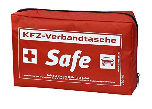 Preisvergleich Produktbild Allflash KFZ Verbandstasche Inhalt nach DIN 13164 § 35h STVZO