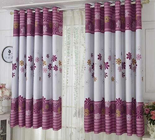Aooword-home gardinen Panels Drape Starke strukturierte gemusterte für Wohnzimmer/Schlafzimmer, lichtundurchlässige Easy Care Energy smart Saving Grommet Druckmuster, (1 Panel) 39x79inch Weiß -