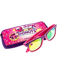 Shopkins D'lish Donut Girl's Sunglasses And Case Set In Purple And Pink