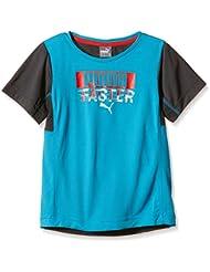 Niños Puma T-Shirt Active cell té 1B Azul azul Talla:152