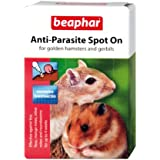 Beaphar Anti-Parasite Spot-On for Golden Hamsters and Gerbils(Pack of 2)