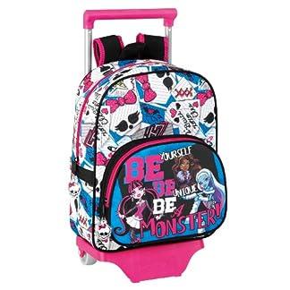 Monster High – Mochila Infantil con Ruedas (SAFTA 611340020)