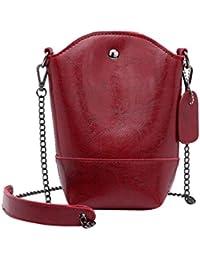 d16b2741933ad Rovinci Damen Kurier-Beutel Schlank Umhängetaschen Handtasche aus PU-Leder  Kleine Körper Taschen