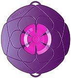 Original Kochblume - der Überkoch-Schutzdeckel mittel (Gundel) Farbe: lila-pink