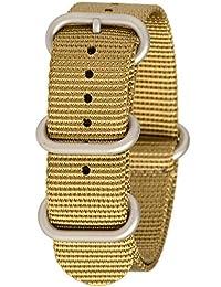 Bertucci b-212N G10correa de reloj inteligente de nailon color caqui para hombre