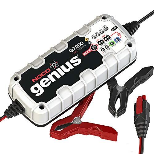 NOCO Genius G7200EU 12V / 24V 7.2 Amp UltraSafe Smart