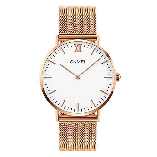 XLORDX Classic XL Damen Quarz Armbanduhr Quarz Analog Uhr modisch Zeitloses Design...