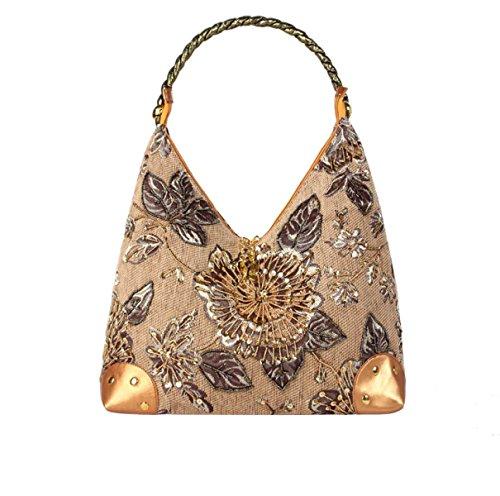 Nationalen Stil Abend Handtasche Art Und Weise Der Mutter Damentaschen Yellow