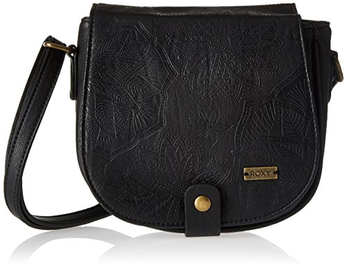 Roxy Damen Bay Lodge Schultertasche, Schwarz (Anthracite/Solid), 4x39x47 Centimeters