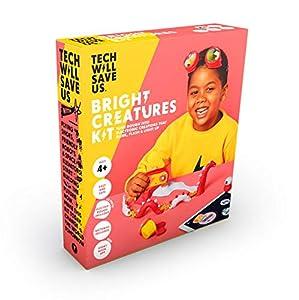 Tech Will Save Us Bright Creatures Kit | Juguete Educativo Stem, de 4 años en adelante