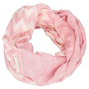 Depesche 8793Loop Bufanda TOPModel, Color Rosa con ankern