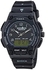 Timex Ironman Analog Black Dial Men's Watch - T5K202