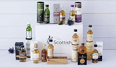 Whisky Galore Gift Hamper - Luxury White Logo Carton