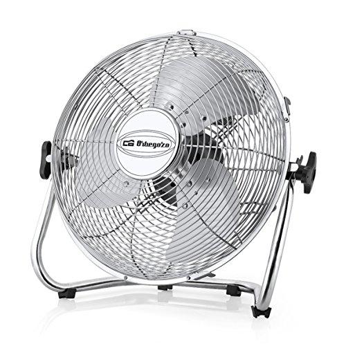 Orbegozo PW 0851 - Ventilador industrial Power Fan, aspas metálicas de 50 cm de diámetro, 3 velocidades...