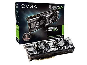 Evga Gaming Nvidia Geforce GTX 1070Ti SC GAMING Black Edition 8GB 256Bit GDDR5X Ekran Kartı