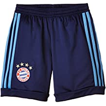 adidas FCB H GK SHO Y - Pantalón corto para hombre, color azul, talla 176