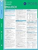 PONS Grammatik auf einen Blick. Englisch