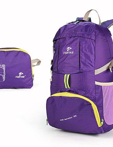 HWB/ 30 L Tourenrucksäcke/Rucksack / Travel Organizer Camping & Wandern / Legere Sport DraußenWasserdicht / Schnell abtrocknend / tragbar / Purple