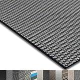 casa pura® Indoor- und Outdoor-Bodenbelag Lucca | kunstvoll gewebt | als Teppich oder Läufer | 40 Größen (180x400cm)